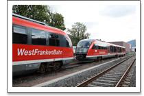 Fahrzeuge,  die in Amorbach am Bahnhof verkehr(t)en