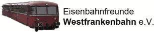 Logo der Eisenbahnfreunde Westfrankenbahn e.V.